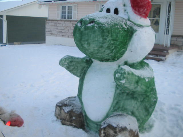 Как сделать снежную скульптуру своими руками